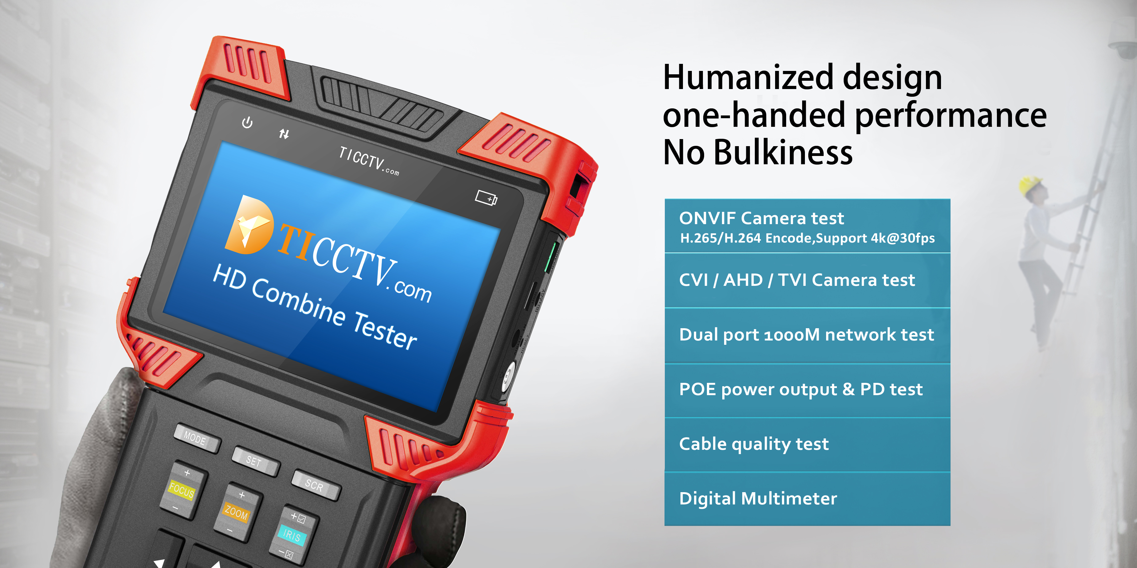 humanized design one-hand performance no bulkiness